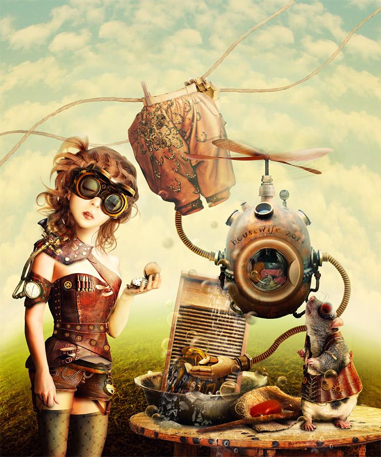 Cinderella. Story - Steampunk3