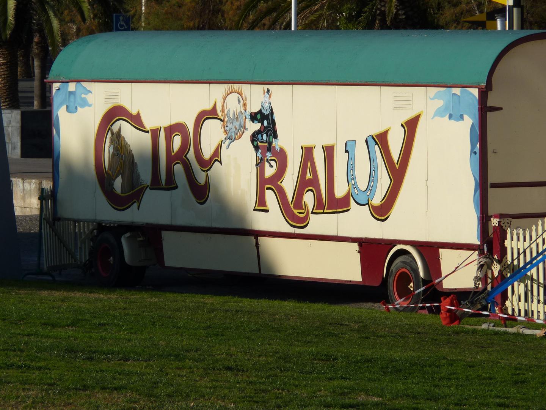 Circo Raluy. Barcelona. 18 diciembre del 2009