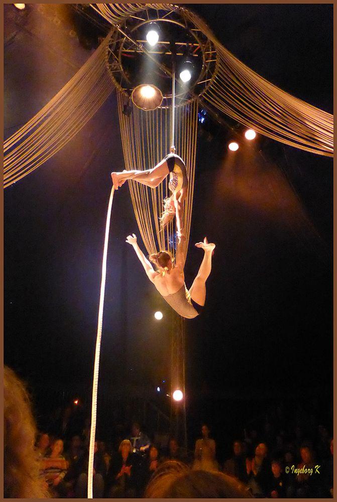 Circus Bouffon in Köln - Seilakrobatik-1