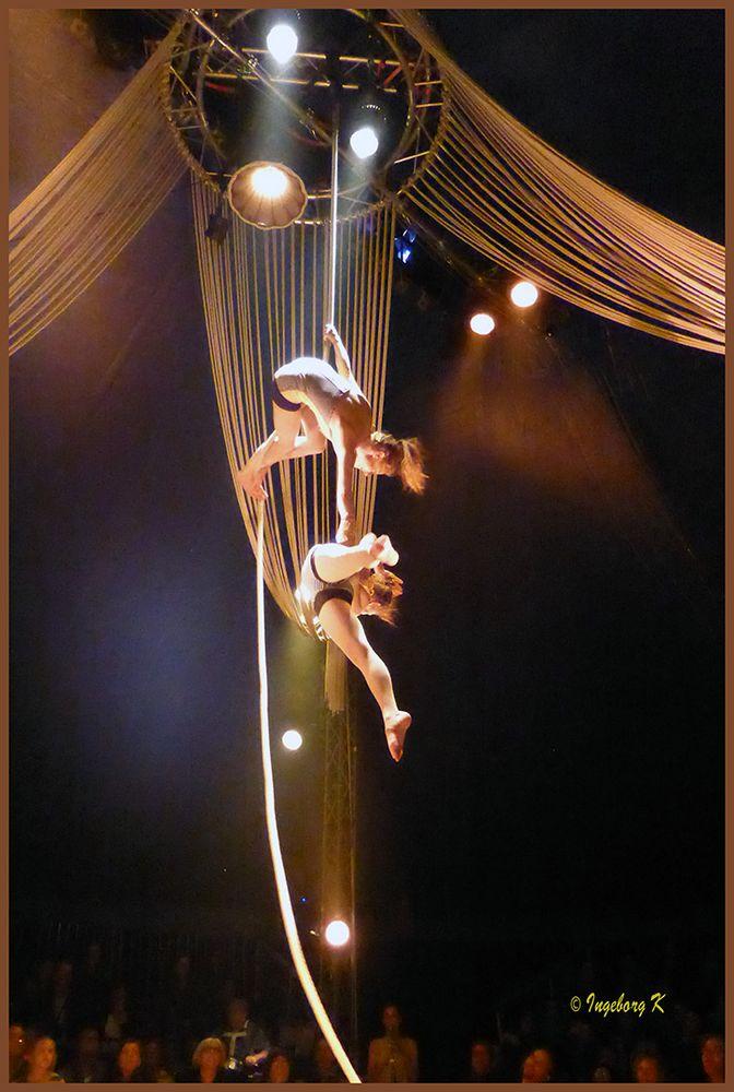 Circus Bouffon in Köln - Seilakrobatik-3