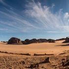 Cirrus über der Sahara