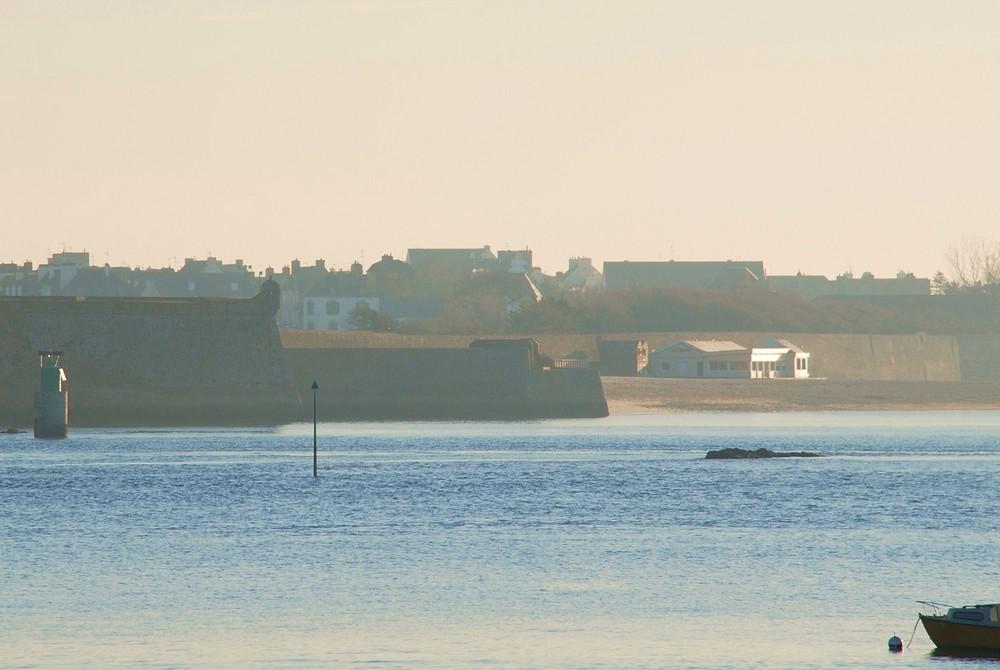 Citadelle de Port Louis au petit matin