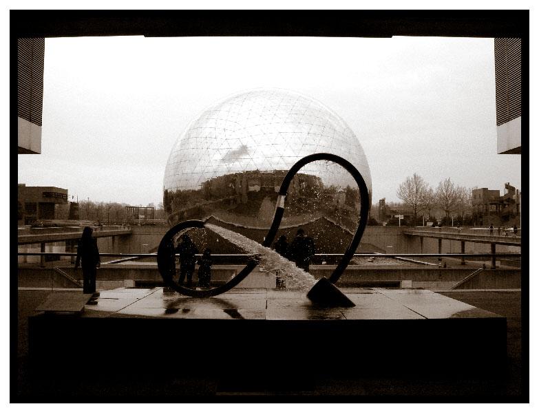 Cité des Sciences et de l'Indusrie, Paris: la Géode