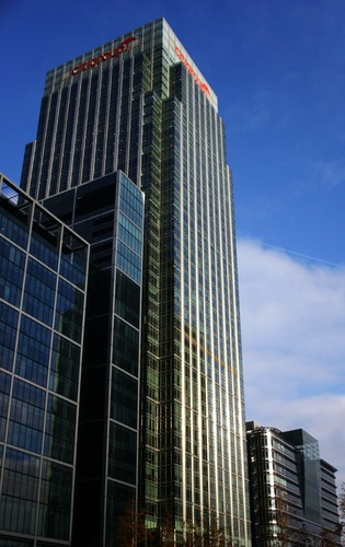 Citigroup Building at Canary Wharf