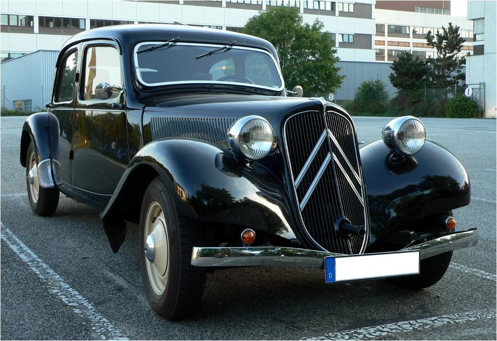 Citroën 11CV Traction Avant (vor 1952)