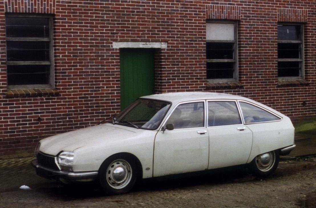 Citroen GS Erstzulassung 1971