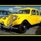 Citroën Traction jaune made in germany