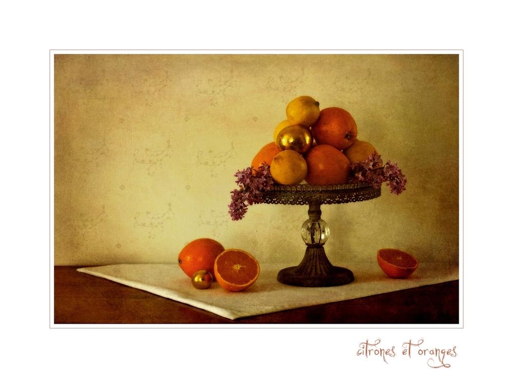 Citrons et Oranges