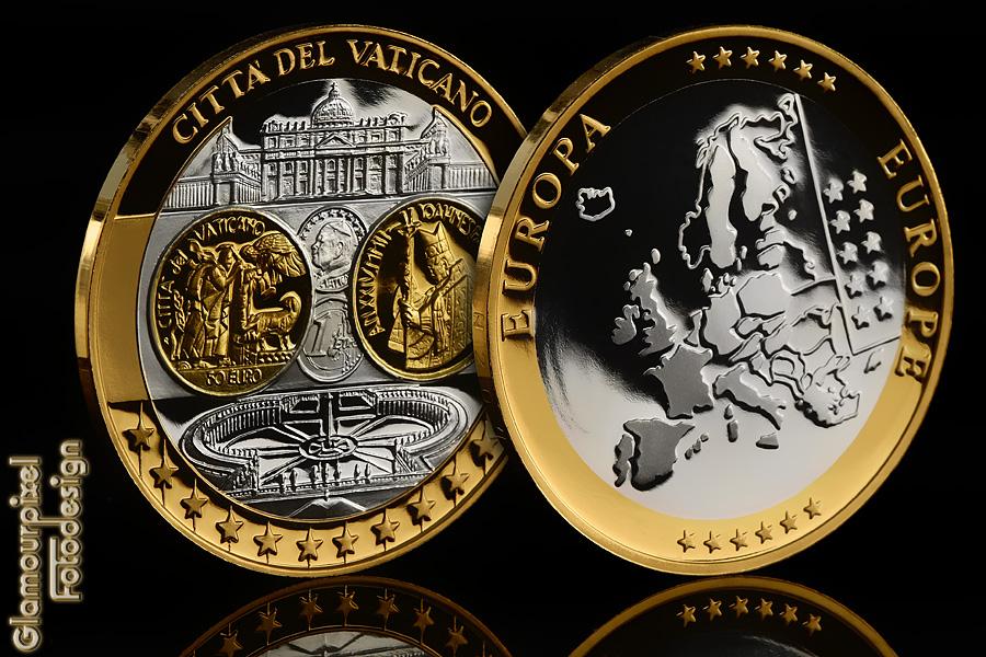 Citta Del Vaticano Foto Bild Stillleben Geld Münzen Usw