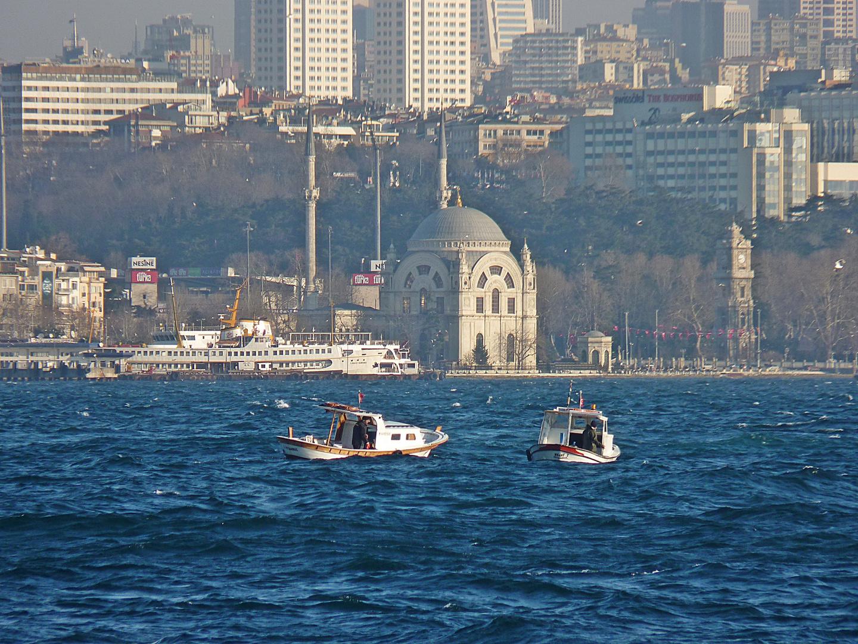 City and fishermen