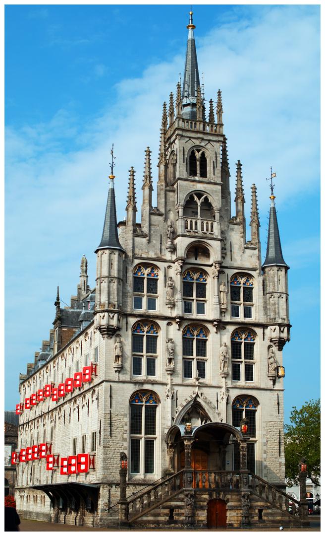 city hall Gouda holland 2