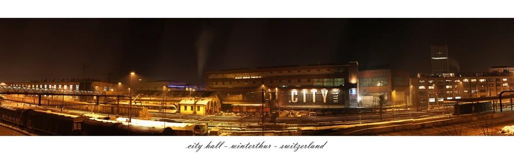 city hall - winterthur - switzerland