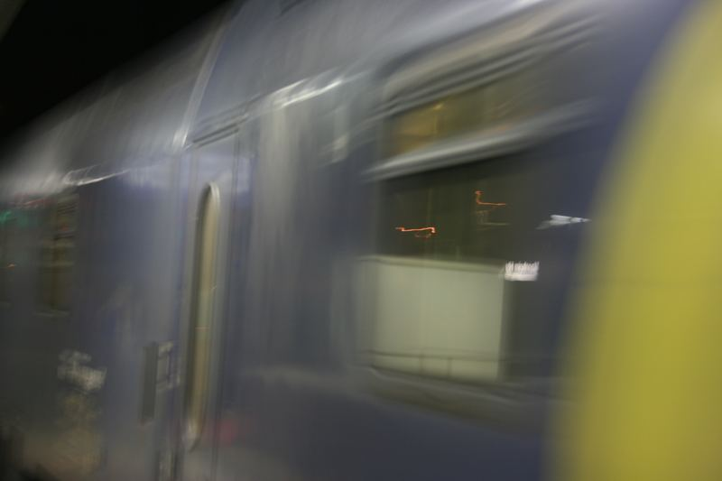 City Night Liner in a Blur