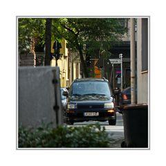 City Streets mit Verkehr
