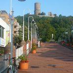 City Terrassen mit Sicht auf die Godesburg