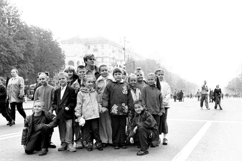 City Tirp of Village Children...
