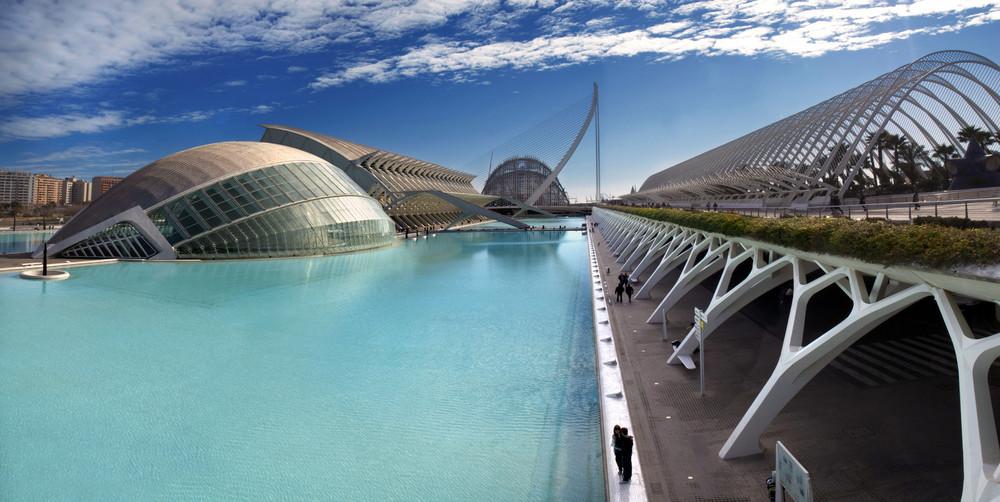 ciudad de las artes y las ciencias/Valencia