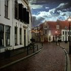 Ciudad holandesa en invierno