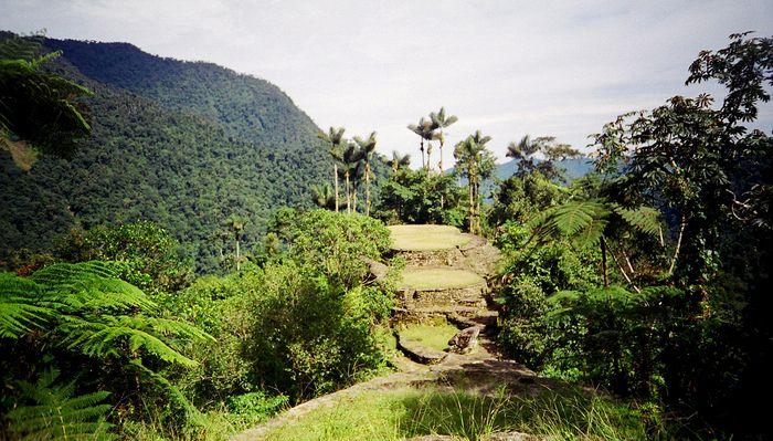 Ciudad Perdida in der Sierra Nevada de Santa Marta in Kolumbien