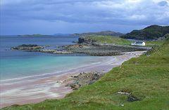 Clashnessie Bay, Lochinver, Sutherland, Schottische Highlands