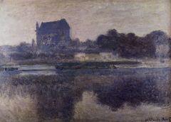 Claude Monet Die Kirche von Vernon