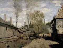 Claude Monet Wassergraben in Robec