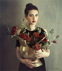 Claudia e le rose