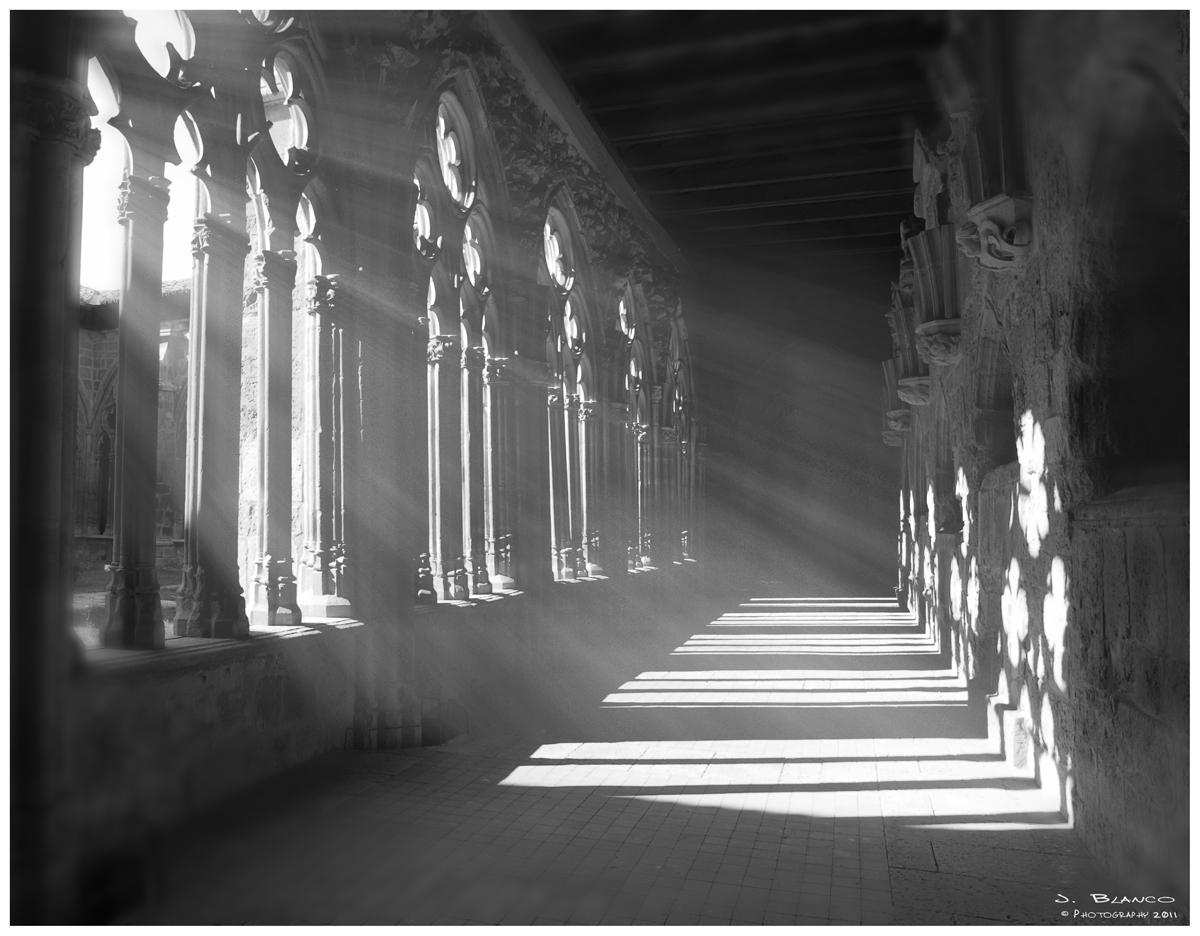 Claustro Iglesia de Santa María la Real. Sasamón. Burgos