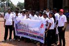 """Clean India"" Goa (Indien)"