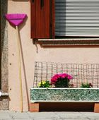 Cleaning equipment in Burano