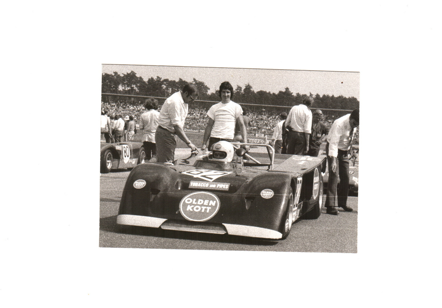 Clemens Schickentanz Chevron B 21 Dahl-Kanal gesponsort Norisring 1971