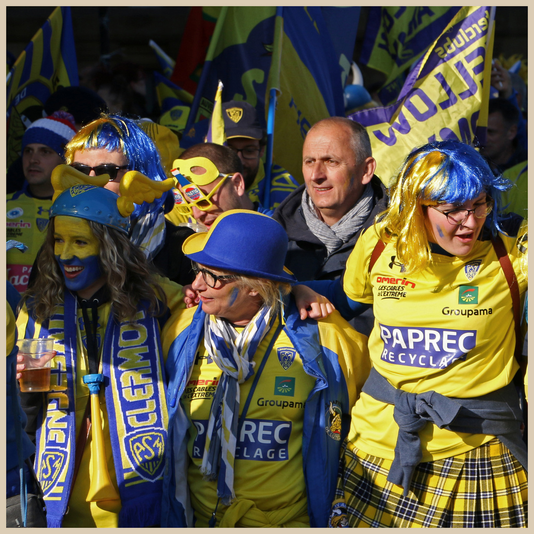 Clermont rugby fans 19 in newcastle