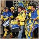 Clermont rugby fans in newcastle 7