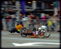 Cleveland Marathon 2014 Hand Pedaled Bikes