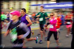 Cleveland Marathon 2014 Starting line