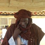 Clever Merchant in the Mopti port