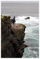 [ Cliff fishing ]