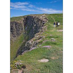 Cliff walk am Old Head