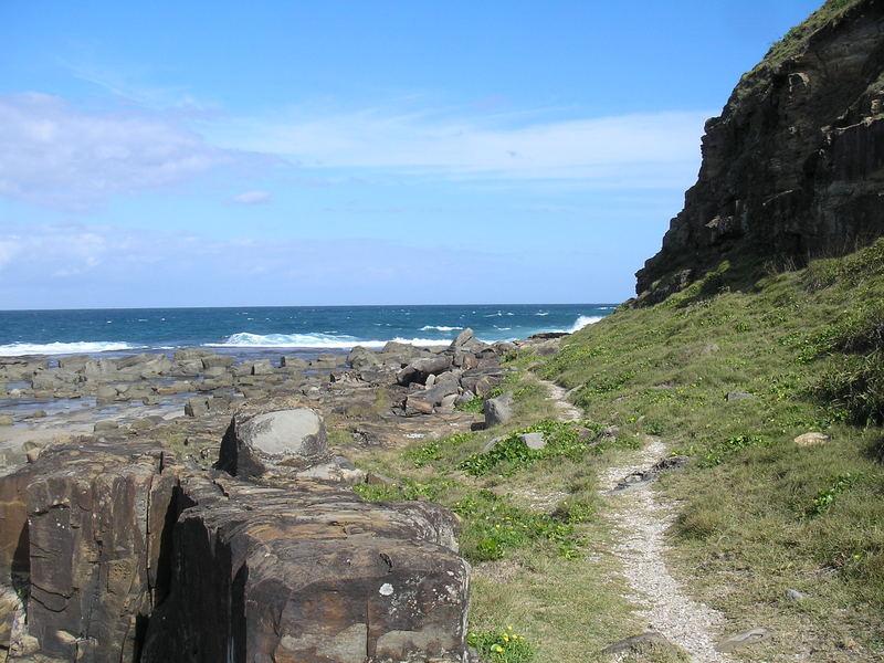 Cliff walk, Iluka Bluff Beach, NSW