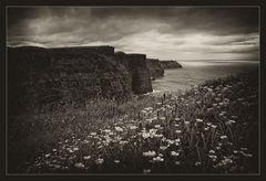 Cliffs of Moher düster