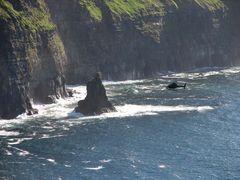 Cliffs of Moher mit Hubschrauber