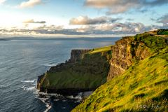 Cliffs of moher:Sunset