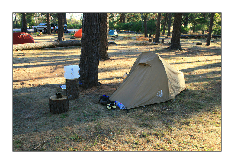 Climbers/Backpackers Home