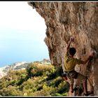 Climbin above the sea ...