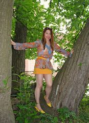 Climbing in the Tree