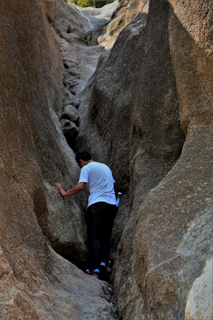 Climbing Lion's Rock