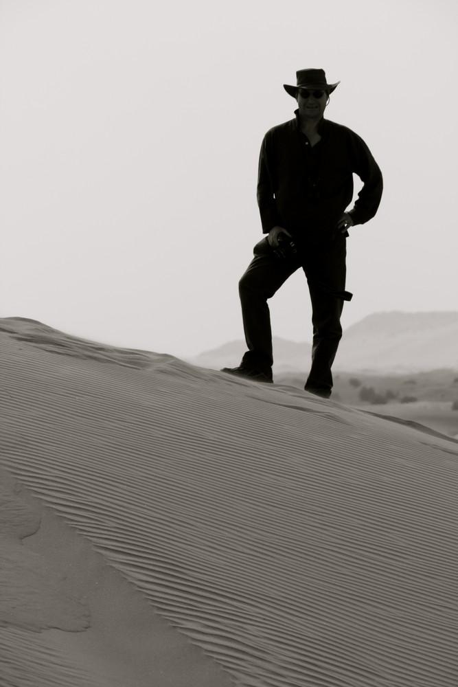 Clint of the desert