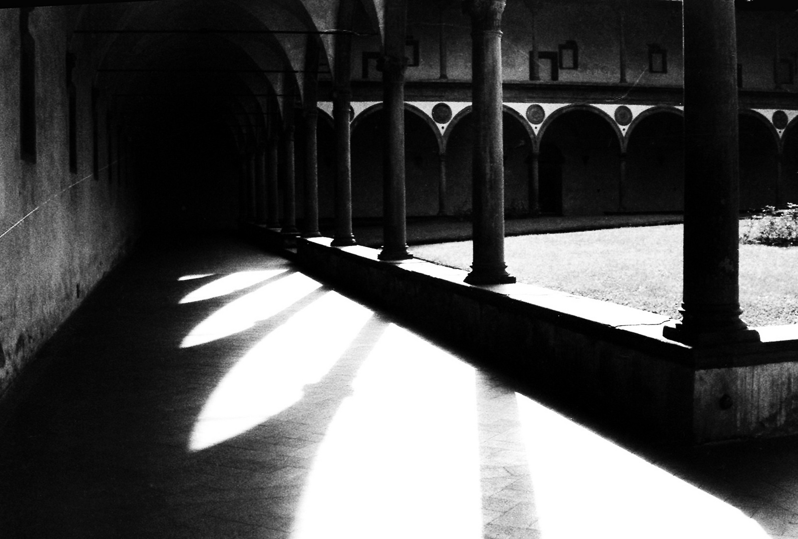 ** CLOISTERS OF SANTA CROCE - FIRENZE