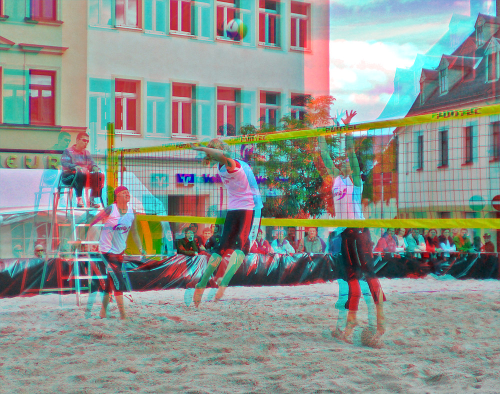 Close hit 3D [ANAGLYPH]