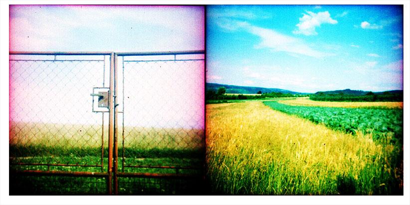 closed landscape